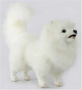 Hansa Pomeranian Dog [38cm] Standing Soft Plush Stuffed Animal Toy NEW