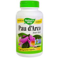 NATURES WAY - Pau dArco Inner Bark 545 mg - 180 Capsules