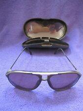 Vintage Carrera Aviator Pilot 5595 90 130 Black Sunglasses Original Case Germany
