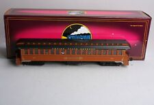 MTH 20-62001C New York Central 64' Woodsided Coach Passenger Car LN/Box