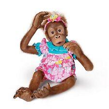 Lollie Ashton Drake Child Orangutan Doll By Simon Laurens 20 inches