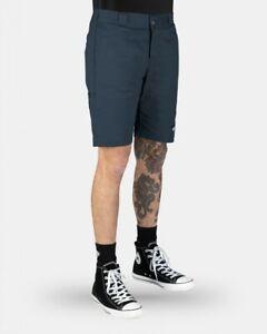 DICKIES Shorts Skinny Straight Dark Navy Work Walk Bmx Skate Short WR801AU-DN