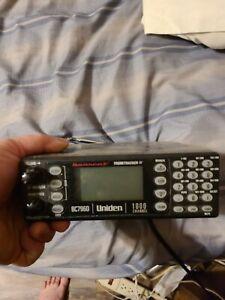 Uniden Bearcat BC796D 1000 Channel Scanner Trunktracker  w/ digital  card