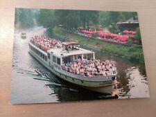 Postkarte Passagierschiff Neptun Berlin Hubertusbrücke Wannsee ungel_