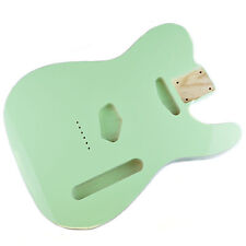 Surf Green Body for telecaster, American Ash, With White Binding