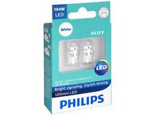 2x PHILIPS ULTINON 194 WHITE 194ULWX2 INTERIOR SIGNALING STOP TAIL BACKUP LED