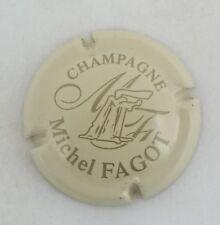 capsule champagne FAGOT michel n°10 crème et or