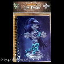 *THE FALLEN* Lisa Parker Blank Notebook With 3D Raven Cover Art (14.5X10.5cm)