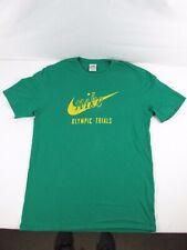 Vintage 1980s NIKE Olympic Trials Pre Prefontaine T-Shirt Orange Swoosh Tag Sz L