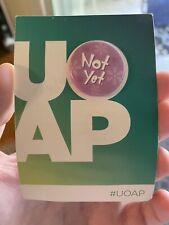 Universal Orlando Annual Passholder NOT YET Button UOAP Pin Studio Grinch Jan 19