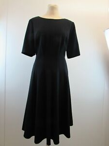 M&S MARKS AND SPENCER WOMENS BLACK DRESS SIZE 14 WITH TAGS                  #NS#