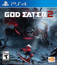 God Eater 2 Rage Burst PS4 New PlayStation 4, PlayStation 4