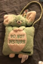 Neopets Plush Green Faellie Door Hanger MWT 2003 Rare