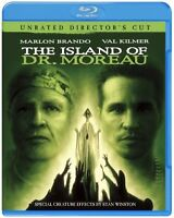 THE ISLAND OF Dr. Moreau of island Director's Cut [Blu-ray] F/S w/Tracking# NEW