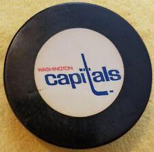 Vintage Washington Capitals Gel Like Logo Puck Nhl Old No Clue Age Or History