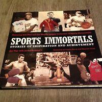 Sports Immortals: Stories of Inspiration and Achievement Sports Memorabilia