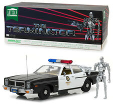 1977 Dodge Monaco Metro Police + T-800 The Terminator 1:18 GreenLight 19042