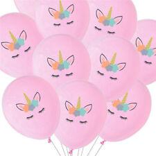 10pcs Unicorn Latex Balloon Birthday Party Decoration Children Party Supplies
