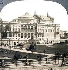 Keystone Stereoview of Municipal Theater, Sao Paulo, BRAZIL from 1930's T400 Set