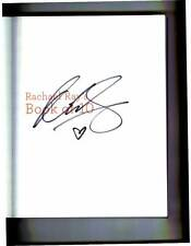 Rachael Ray signed Book of 10 1st printing softcover book