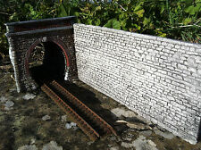 portale tunnel  per diorami e plastici ferroviari