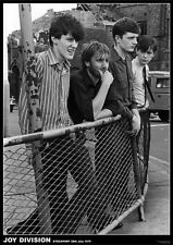 """New JOY DIVISION Stockport 1979 B/W POSTER 34"""" x 24"""""""
