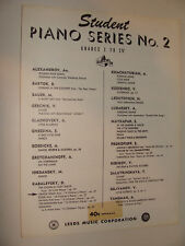 Cradle Song Op 27 from 10 Childrens Pieces by Kabalevsky 1951 piano