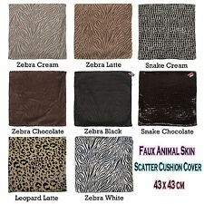 Animals & Bugs Print Decorative Cushion Covers