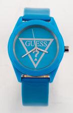 GUESS Damen Uhr Kunststoff blau sehr leicht sportlich NEU W65014L4 G4