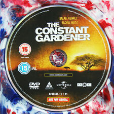 THE CONSTANT GARDENER DVD Movie Film - DISC ONLY *