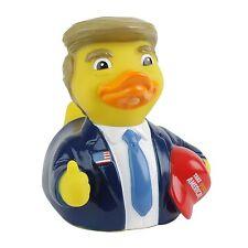 CelebriDucks Take Quack America THE Donald RUBBER DUCK Bath Toy