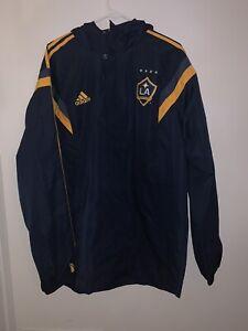 NWT MLS Adidas LA Galaxy Rain Jacket Size XL MSRP $100