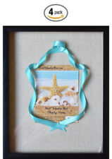 """(4-Pack) 12x15"""" Display Shadow Box Frame with Linen Background and 8 Stick Pins"""