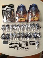 Star Wars Action Figure 501st Clone Trooper Army Builder Loose Lot