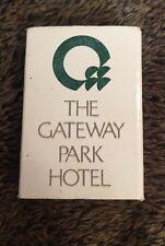 Matchbook Box Matchbox The Gateway Park Hotel Phoenix AZ
