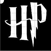 12, 10, 8 Harry Potter Glitter Tattoo Stencils