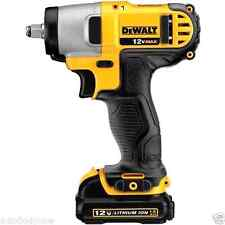 "NEW Gun Wrench Kit with Battery and Bag Dewalt 12V Lithium Ion 3/8"" Drive Impact"