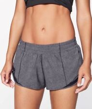NWT Lululemon Hotty Hot Short Ⅱ Run Gym Low Rise DDBL/BLK