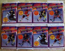 8   PACKS Score Hockey CARDS 1991-92 Old Unopened LOT Hasek Rookie ? Gretzky ? +