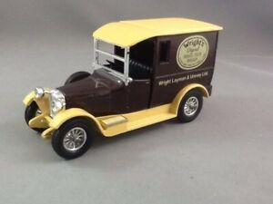 Matchbox MOY Y 5-4G 1927 Talbot Delivery Van - Wright's Soap - Variation 1
