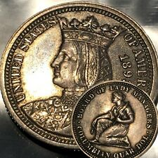 1893 Columbian Exposition Isabella Commemorative Quarter 25c  u26