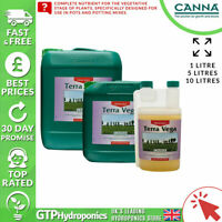 Canna Terra Vega A+B 1L - Veg Growth Plant Nutrients Soil A&B 1 Litre