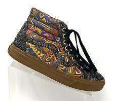 Vans Mens Size 9.5 OTW Zio Ziegler Gum Art Gallery SK8-Hi Shoes Limited Edition