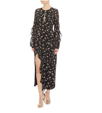 Bardot Floral Long Sleeve Dress - UK 12 - RRP£99 - BNWT