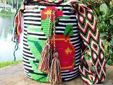 AUTHENTIC MOCHILA WAYUU / LARGE SIZE / FINEST QUALITY / COLOMBIAN BAG/HANDBAG