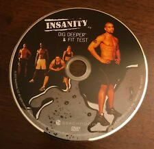 Beachbody Insanity: Dig Deeper & Fit Test Replacement Disc