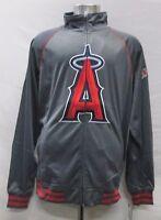 Los Angeles Angels MLB Men's Big & Tall Full-Zip Track Jacket