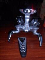 "Vintage 2007 WOWWEE Robot Alien Spider Crab Bot Remote Fully Working Large 11"""