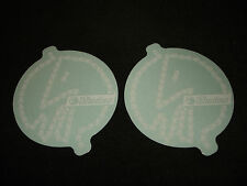 2 Authentic SHADOW Conspiracy ADESIVI BIANCHI BICICLETTA BMX #4 decals aufkleber