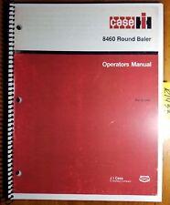Case IH 8460 Round Baler S/N -16839 Owner's Operator's Manual Rac 9-13450 2/88